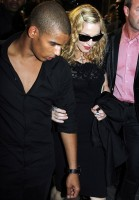 Madonna and Brahim Zaibat at the VIP Room Theatre, Paris (3)