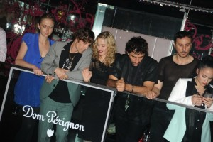Madonna and Brahim Zaibat at the VIP Room Theatre, Paris (4)