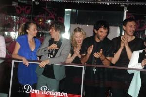 Madonna and Brahim Zaibat at the VIP Room Theatre, Paris (5)