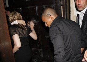 Madonna and Brahim Zaibat at the VIP Room Theatre, Paris (7)