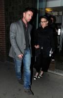 Madonna leaving recording studio, London (3)