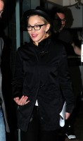 Madonna leaving recording studio, London (4)