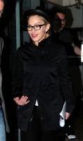 Madonna leaving recording studio, London (4)