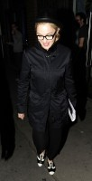 Madonna leaving recording studio, London (5)