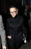 Madonna leaving recording studio, London (6)