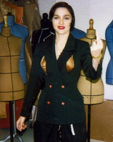 Madonna in The Fashion World of Jean Paul Gaultier book 06