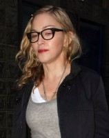 Madonna leaving recording studio in Soho, London - 8 July 2011 (2)