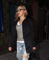 Madonna quittant un studio d'enregistrement à Soho, Londres - 8 juillet 2011 (7)