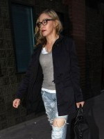 Madonna leaving recording studio in Soho, London - 8 July 2011 (10)
