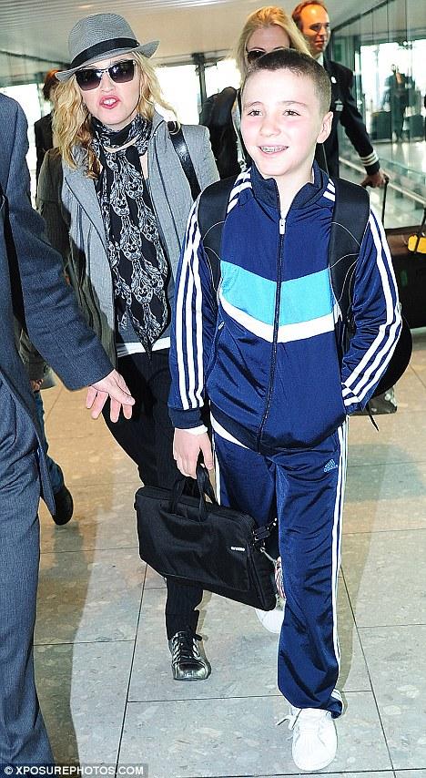 Madonna leaves London