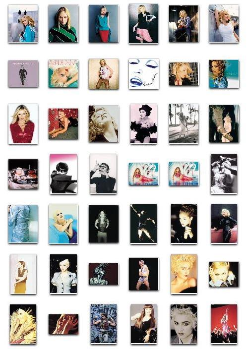 Madonna GHV2 Project - Full artwork package 02