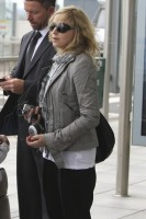 Madonna and family arriving at Heathrow Airport, London (2)