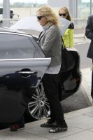 Madonna and family arriving at Heathrow Airport, London (4)