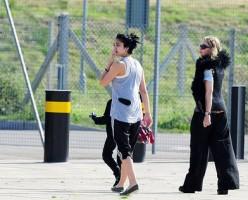 Madonna à Londres, 17 aout 2011 (10)