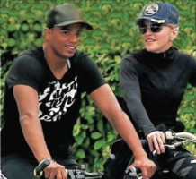 Madonna's holiday at the Basque Country, France - August 2011 (5)