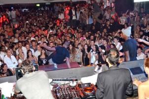 Madonna and Brahim at Gotha Nightclub, Cannes, France (1)