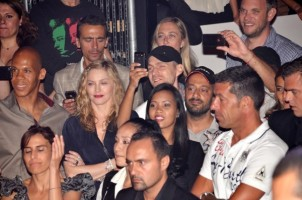 Madonna and Brahim at Gotha Nightclub, Cannes, France (3)