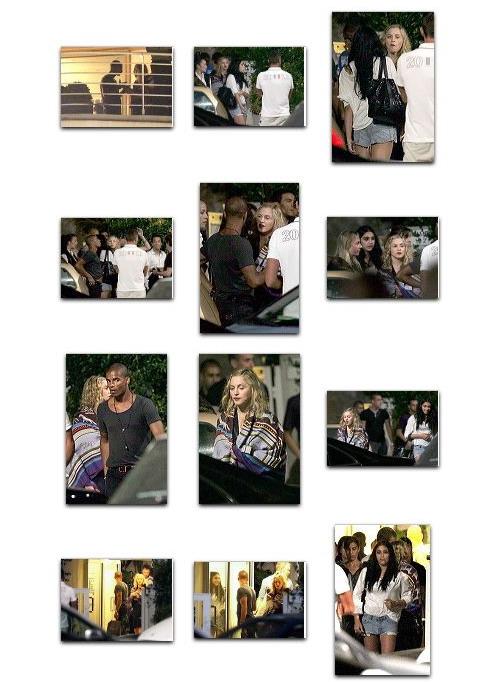 Madonna and Brahim Zaibat party at Hotel du Cap Eden Roc, Antibes, France 2