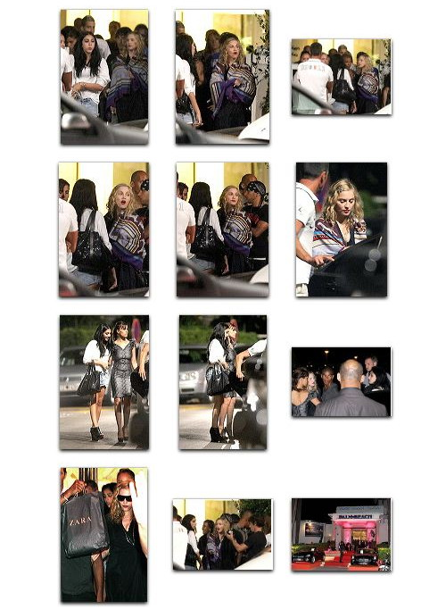 Madonna and Brahim Zaibat party at Hotel du Cap Eden Roc, Antibes, France 3