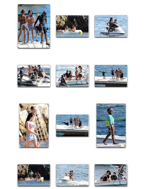 Madonna and family at Hotel du Cap Eden Roc, Antibes, France, August 28 2011 3