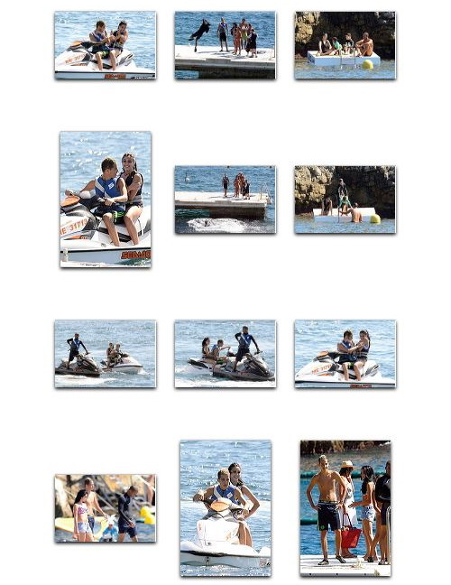 Madonna and family at Hotel du Cap Eden Roc, Antibes, France, August 28 2011 4