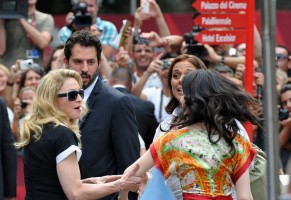Madonna and W.E. cast at the 68th Venice Film Festival Press Conference (1)