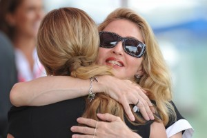 Madonna and W.E. cast at the 68th Venice Film Festival Press Conference (6)