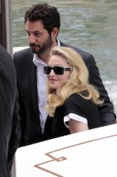 Madonna and W.E. cast at the 68th Venice Film Festival Press Conference (9)