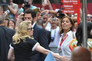 Madonna and W.E. cast at the 68th Venice Film Festival Press Conference (10)