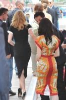 Madonna and W.E. cast at the 68th Venice Film Festival Press Conference (11)