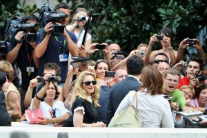 Madonna and W.E. cast at the 68th Venice Film Festival Press Conference (13)