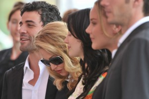 Madonna and W.E. cast at the 68th Venice Film Festival Press Conference (14)
