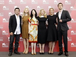 Madonna and W.E. cast at the 68th Venice Film Festival Press Conference - Update 6 (30)
