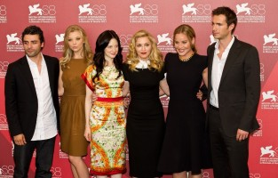 Madonna and W.E. cast at the 68th Venice Film Festival Press Conference - Update 7 (57)