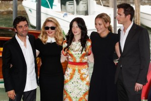 Madonna and W.E. cast at the 68th Venice Film Festival Press Conference - Update 3 (3)