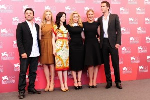 Madonna and W.E. cast at the 68th Venice Film Festival Press Conference - Update 4 (10)
