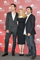 Madonna and W.E. cast at the 68th Venice Film Festival Press Conference - Update 4 (11)