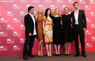 Madonna and W.E. cast at the 68th Venice Film Festival Press Conference - Update 4 (14)