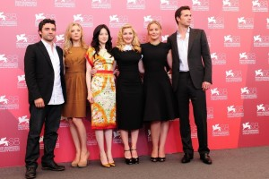 Madonna and W.E. cast at the 68th Venice Film Festival Press Conference - Update 4 (16)
