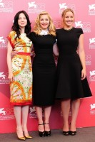 Madonna and W.E. cast at the 68th Venice Film Festival Press Conference - Update 4 (26)