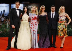 Madonna and W.E. cast at the world premiere of W.E. at the 68th Venice Film Festival - Update 5 (3)
