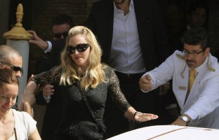 Madonna's second day at the 68th Venice Film Festival (6)