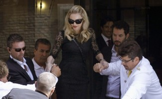 Madonna's second day at the 68th Venice Film Festival (10)