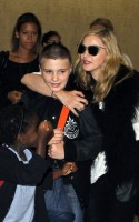 Madonna at JFK airport, New York (1)