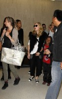 Madonna at JFK airport, New York (2)