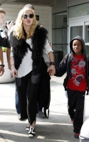 Madonna at JFK airport, New York (4)