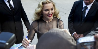 Madonna at the Toronto International Film Festival - Red Carpet, 12 September 2011 - Update 3 (52)