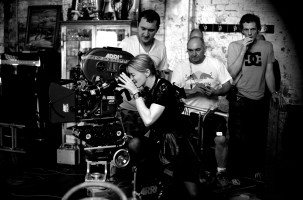Behind the scenes  - W.E. Madonna (1)