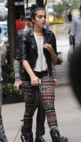 Madonna and Lourdes out and about in New York, 1 October 2011 (2)