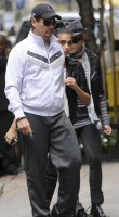 Madonna and Lourdes out and about in New York, 1 October 2011 (4)